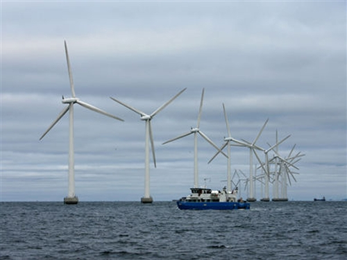 哥本哈根海上风力发电站